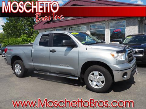 2013 Toyota Tundra for sale at Moschetto Bros. Inc in Methuen MA