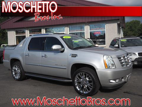 2013 Cadillac Escalade EXT for sale at Moschetto Bros. Inc in Methuen MA