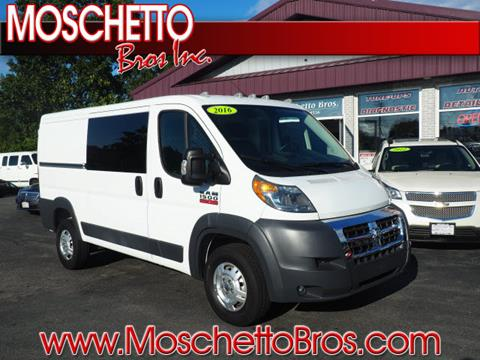 2016 RAM ProMaster Cargo for sale at Moschetto Bros. Inc in Methuen MA