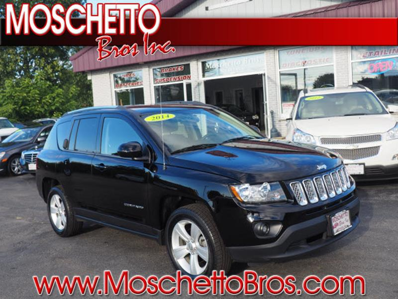 2014 Jeep Compass for sale at Moschetto Bros. Inc in Methuen MA