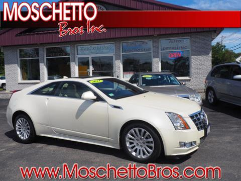 2014 Cadillac CTS for sale at Moschetto Bros. Inc in Methuen MA
