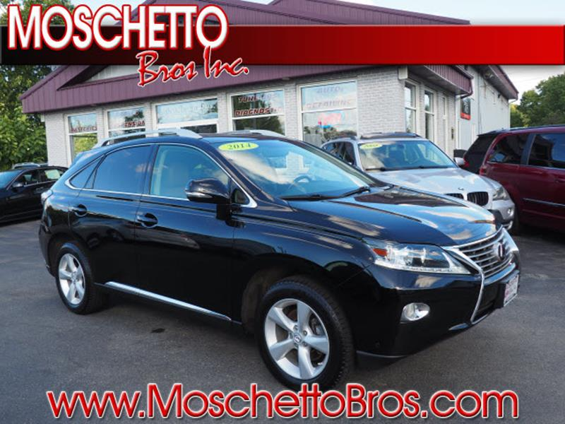 2014 Lexus RX 350 for sale at Moschetto Bros. Inc in Methuen MA