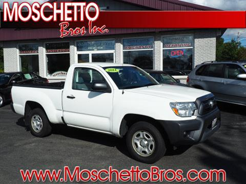 2014 Toyota Tacoma for sale at Moschetto Bros. Inc in Methuen MA