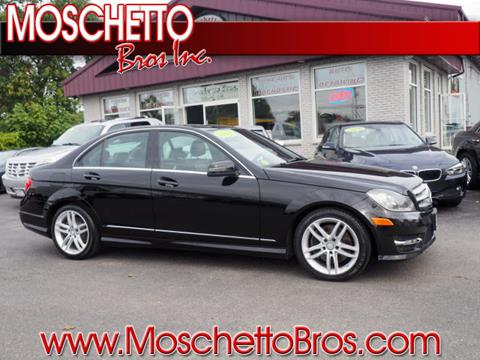 2013 Mercedes-Benz C-Class for sale at Moschetto Bros. Inc in Methuen MA