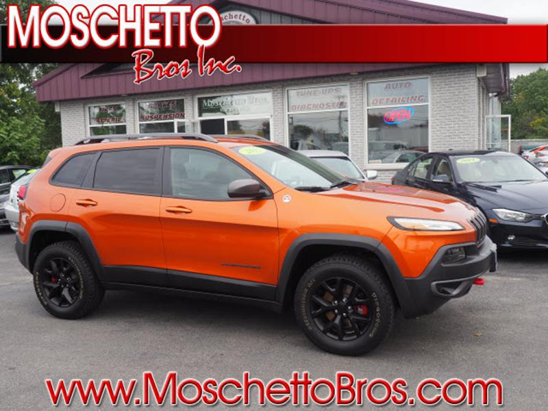 2015 Jeep Cherokee for sale at Moschetto Bros. Inc in Methuen MA
