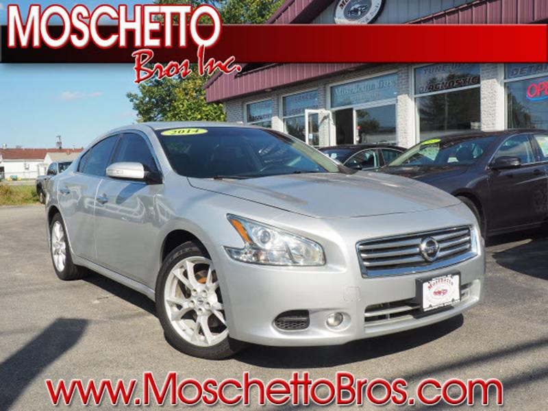 2014 Nissan Maxima For Sale At Moschetto Bros. Inc In Methuen MA