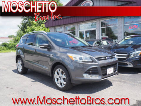 2016 Ford Escape for sale at Moschetto Bros. Inc in Methuen MA