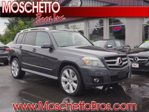 2010 Mercedes-Benz GLK for sale at Moschetto Bros. Inc in Methuen MA