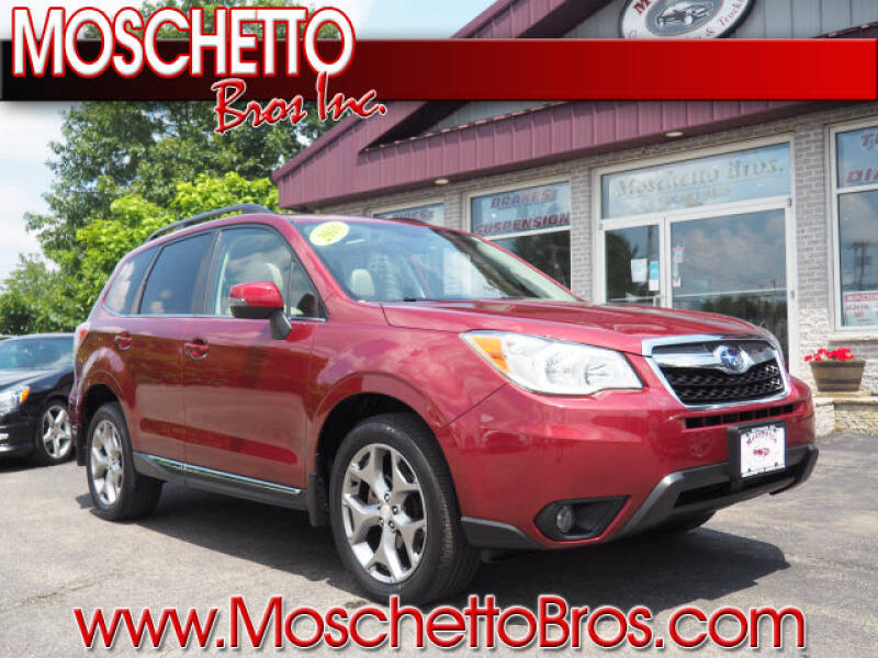 2016 Subaru Forester for sale at Moschetto Bros. Inc in Methuen MA