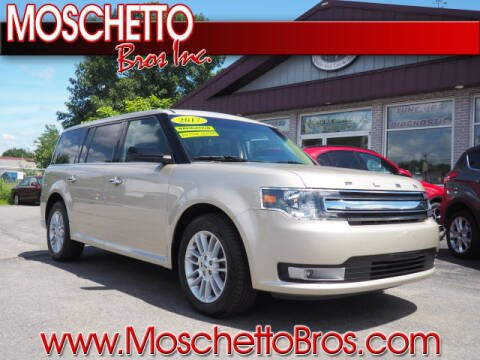 2017 Ford Flex for sale at Moschetto Bros. Inc in Methuen MA