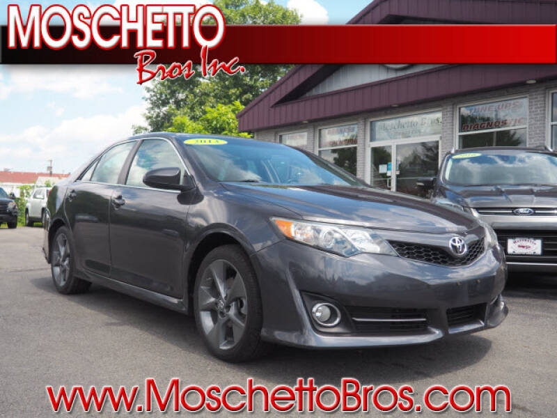 2013 Toyota Camry for sale at Moschetto Bros. Inc in Methuen MA