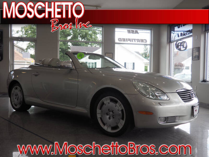2003 Lexus SC 430 for sale at Moschetto Bros. Inc in Methuen MA