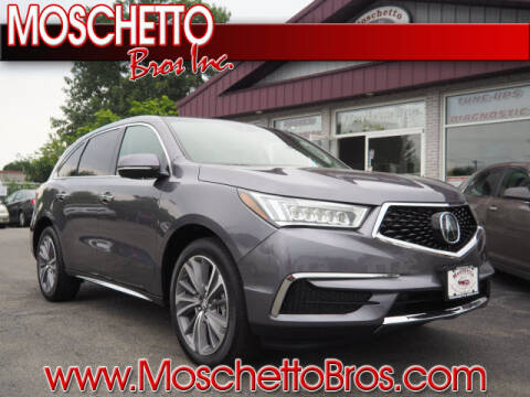 2018 Acura MDX for sale at Moschetto Bros. Inc in Methuen MA
