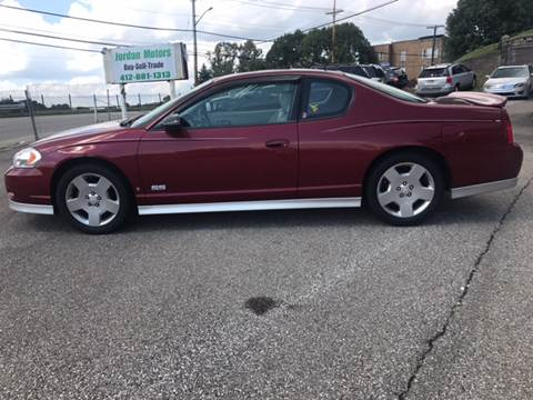 2007 Chevrolet Monte Carlo for sale in Pittsburgh PA