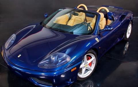 2003 Ferrari 360 Spider for sale in Milpitas, CA