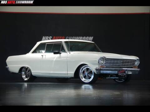 1963 Chevrolet Nova for sale at NBS Auto Showroom in Milpitas CA