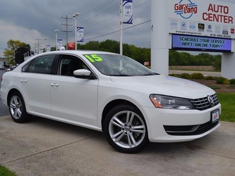 2015 Volkswagen Passat for sale in Mchenry, IL
