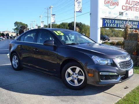 2015 Chevrolet Cruze for sale in Mchenry, IL