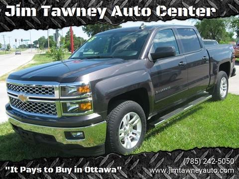 2015 Chevrolet Silverado 1500 for sale at Jim Tawney Auto Center Inc in Ottawa KS