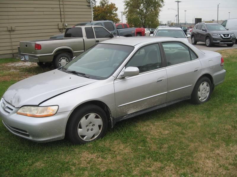 2001 Honda Accord for sale at Jim Tawney Auto Center Inc in Ottawa KS