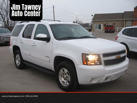2012 Chevrolet Tahoe for sale at Jim Tawney Auto Center Inc in Ottawa KS