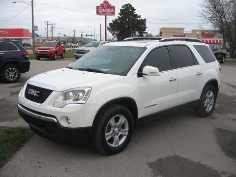 2008 GMC Acadia for sale at Jim Tawney Auto Center Inc in Ottawa KS