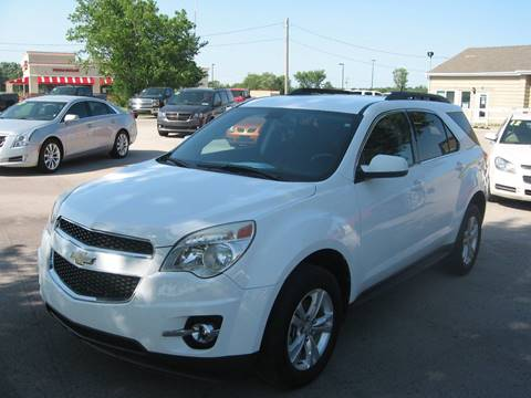 2011 Chevrolet Equinox for sale at Jim Tawney Auto Center Inc in Ottawa KS