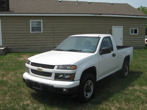 2010 Chevrolet Colorado for sale at Jim Tawney Auto Center Inc in Ottawa KS