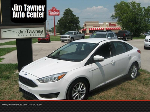 2016 Ford Focus for sale at Jim Tawney Auto Center Inc in Ottawa KS