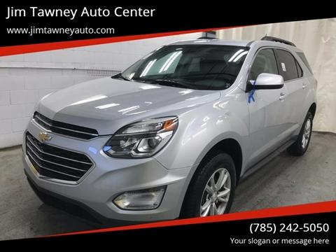 2017 Chevrolet Equinox for sale at Jim Tawney Auto Center Inc in Ottawa KS