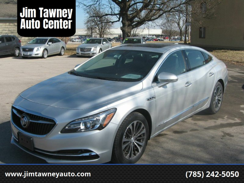 2018 Buick LaCrosse for sale at Jim Tawney Auto Center Inc in Ottawa KS
