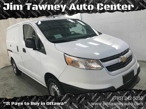 2018 Chevrolet City Express Cargo for sale at Jim Tawney Auto Center Inc in Ottawa KS