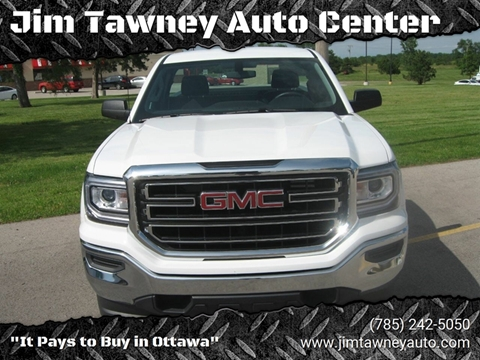 2018 GMC Sierra 1500 for sale at Jim Tawney Auto Center Inc in Ottawa KS