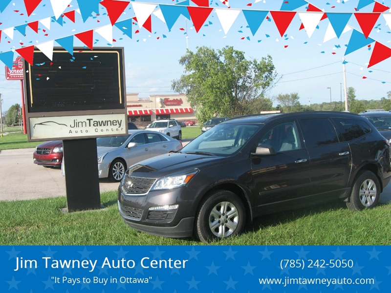 2016 Chevrolet Traverse for sale at Jim Tawney Auto Center Inc in Ottawa KS