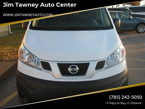 2019 Nissan NV200 for sale at Jim Tawney Auto Center Inc in Ottawa KS