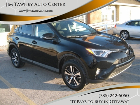 2018 Toyota RAV4 for sale at Jim Tawney Auto Center Inc in Ottawa KS