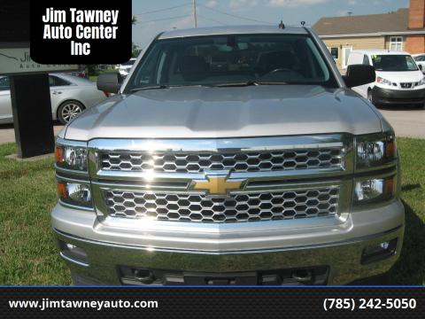 2014 Chevrolet Silverado 1500 for sale at Jim Tawney Auto Center Inc in Ottawa KS
