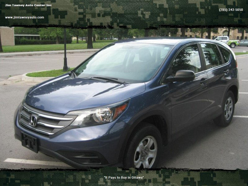 2013 Honda CR-V for sale at Jim Tawney Auto Center Inc in Ottawa KS