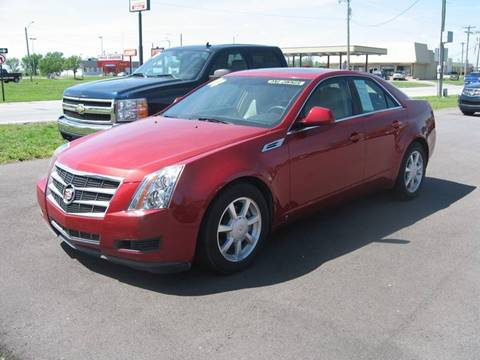2008 Cadillac CTS for sale at Jim Tawney Auto Center Inc in Ottawa KS