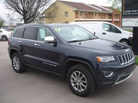 2016 Jeep Grand Cherokee for sale at Jim Tawney Auto Center Inc in Ottawa KS
