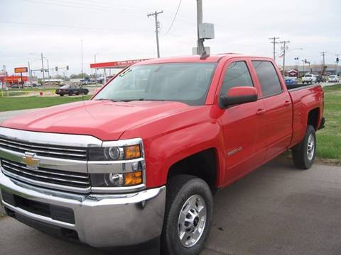 2015 Chevrolet Silverado 2500HD for sale at Jim Tawney Auto Center Inc in Ottawa KS