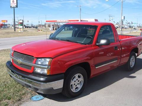 2003 Chevrolet Silverado 1500 for sale at Jim Tawney Auto Center Inc in Ottawa KS