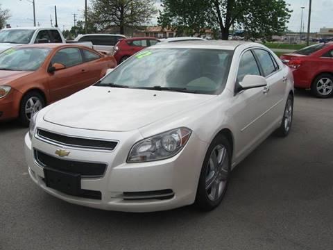 2012 Chevrolet Malibu for sale at Jim Tawney Auto Center Inc in Ottawa KS