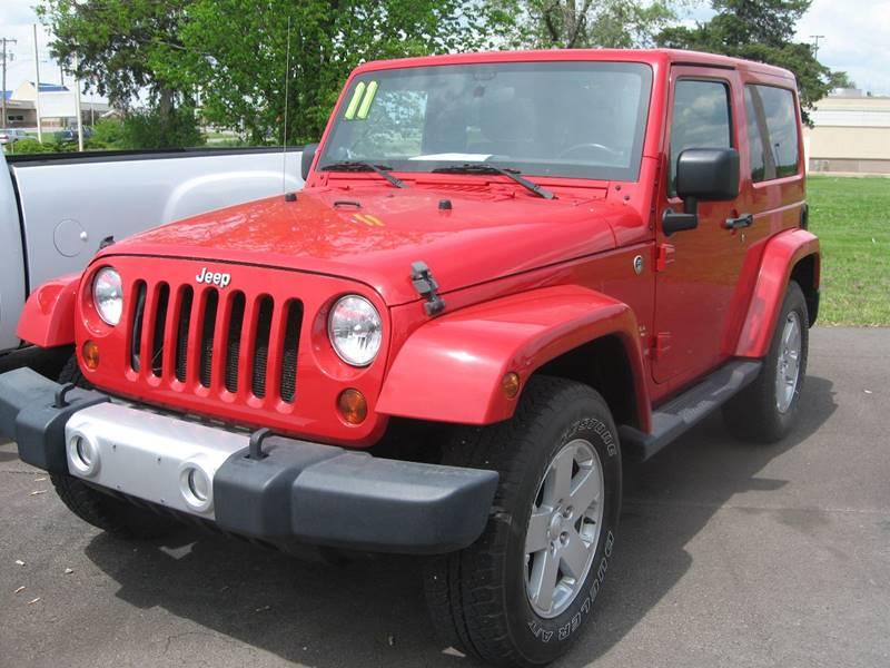 2011 Jeep Wrangler for sale at Jim Tawney Auto Center Inc in Ottawa KS
