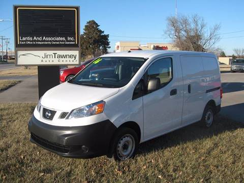 2016 Nissan NV200 for sale at Jim Tawney Auto Center Inc in Ottawa KS
