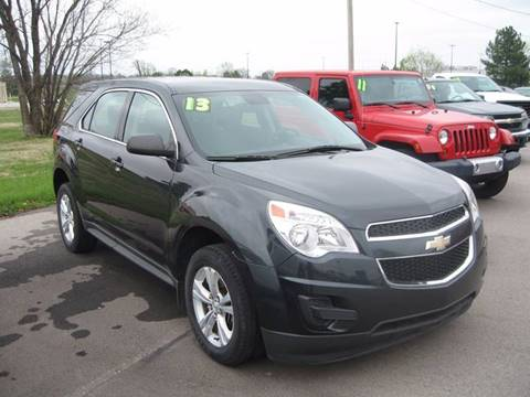 2013 Chevrolet Equinox for sale at Jim Tawney Auto Center Inc in Ottawa KS