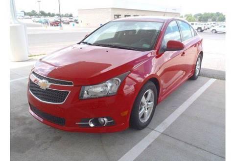 2013 Chevrolet Cruze for sale at Jim Tawney Auto Center Inc in Ottawa KS