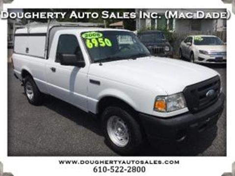 2008 Ford Ranger for sale in Folsom PA