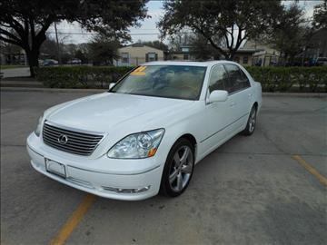2004 Lexus LS 430 for sale in Houston, TX