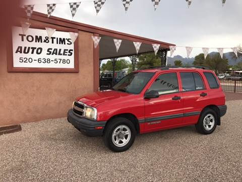 2003 Chevrolet Tracker for sale in Tucson, AZ